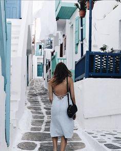Delphine Slip Dress Blue