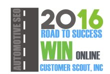 2016 Automotive SEO Road to Success. Customer Scout. Phoenix metro