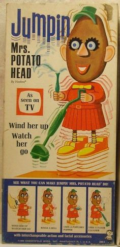 Vintage Mrs Potato Head