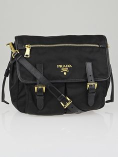 8c614809f85f0f Prada Tessuto Impuntu Quilted Nylon Shoulder Chain Handbag BL0910 ...