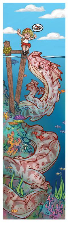 sea-dragon by thailur.deviantart.com on @deviantART