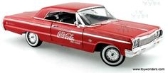 Johnny Lightning - Chevy Impala Coca Cola (1964,  Red)