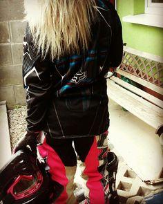 Mała dt70 #motocross #enduro #girls #fox #pasja #passion #motorcycle #love