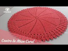 Crochet Doilies, Crochet Hats, Coral, Youtube, Mary, Rug Patterns, Crochet Kids Hats, Crochet Costumes, Cushion Ideas