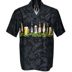 chemise hawaienne ...Beer 4 life