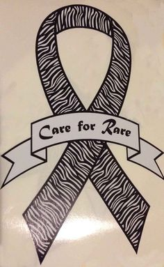 "Rare Disease ""Care for Rare"" Decal for sale!  Buy and display your Care for Rare Ribbon Decal and show the world you care for rare disease patients.....  Please share!"