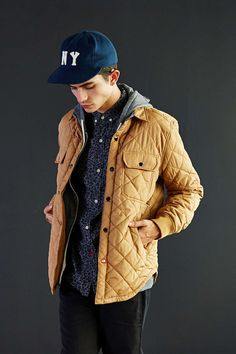 CPO Omar Quilted Shirt Jacket - Urban Outfitters