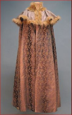 house of doucet | Jacques Doucet, Silk brocade changeable silk evening cape, Early 20th ...