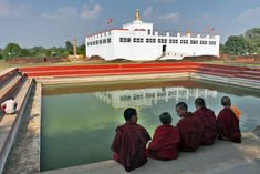 PHOTO: Nepal Temple at Lumbini, Birthplace of Lord Buddha | Hole In The Donut Cultural Travel