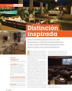 Distinción Inspiradora. Revista Beglam.
