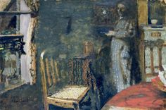 ◇ Artful Interiors ◇ paintings of beautiful rooms - Édouard Vuillard | Woman by the Window, 1898