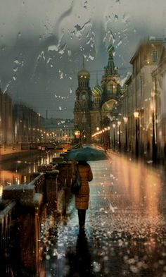 Rainy day in Russia.. (by nau)