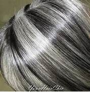 Pics Of Grey Hair With Silver Highlights And Dark Lowlights | Dark Brown Hairs
