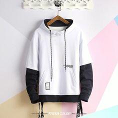 Buy Printed Hoodies Pullover at www. Hoodie Sweatshirts, Printed Sweatshirts, Hoody, Hoodie Outfit, Style Hip Hop, Aesthetic Hoodie, Cool Hoodies, Hoodies For Men, Street Wear