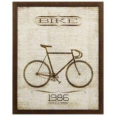BIKE CYCLE QUADRO SQ. 30X28 2VRD.