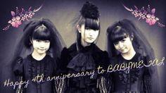 Happy 4th Anniversary to BABYMETAL