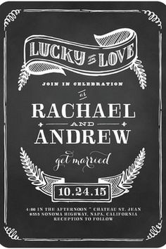 Best Vintage Wedding Invitations > shared by #Carahills http://www.carahills.com