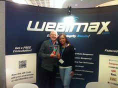 Our WebiMax winner brought home a Google Nexus 7 Tablet at The Web Design & Usability Conference IRWD 2013.
