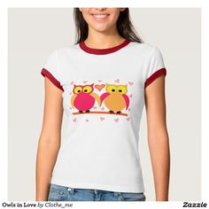 Owls in Love T Shirt