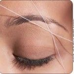 What is Eyebrow Threading? I like it so much better than tweezing or waxing. Much quicker too.