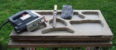 How to cast cladding stones & Build molds for concrete