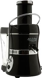 Jack LaLanne Juicer.  All days veggies in one glass :-)