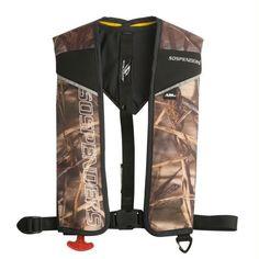 Stearns 1431 24g Auto-Manual Inflatable Harness - Camo