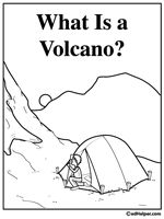 Label the Volcano Worksheet Science Volcano worksheet