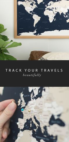 Cyber monday sale world travel map wayfaren pinterest invest in experience travel the world gumiabroncs Image collections