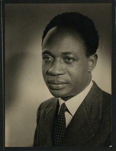 Kwame Nkrumah (first president of Ghana)