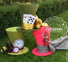 Купить Шляпа Безумного Шляпника - комбинированный, безумный шляпник, большая шляпа, гигантская шляпа, шляпник