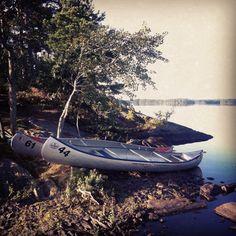 Immeln canoeing trip. #canoe #sweden