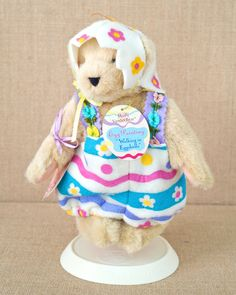 Muffy Vanderbear - 1994 Walking in Eggshells - Mint Condition by TheVintageBearShop on Etsy