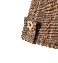 Boy Pants Brown And Beige Striped Trousers With Pockets by morion, $45.00