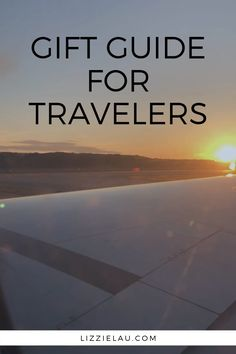 Looking for unique gifts for travel entjhiusiasts? This list will help you find a stocking stuffer or present for your favorite traveler. Travel Advice, Travel Guides, Travel Tips, Travel Destinations, Travel Hacks, Budget Travel, Best Travel Gifts, Travel Must Haves, Travel Gadgets