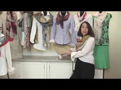 """""""The Best Scarf Video"""" - Fashion Tips and Trends About Scarves - YouTube"""