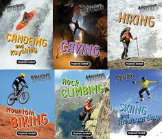 Adventure Sports Spring 2016 Set of 6 Books