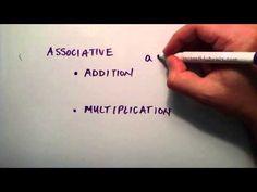 Algebraic Properties Part 1 ( Commutative and Associative ) , Intermediate Algebra , Lesson 18