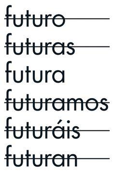 © Ralph Bauer, vm&, Lima // 22 bekannte Designer wirkten bei dem Projekt »Tribute to Paul« der Hochschule Mainz mit. Statements zu #futura #typo #typography #typografie #plakate #plakatdesign