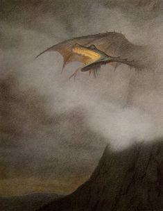 Theodor Kittelsen - Dragon Awakens