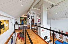 Moorestown Residence - contemporary - living room - philadelphia - by Sandvold Blanda Architecture + Interiors LLC