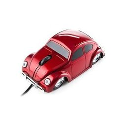 Retro Red Car Mouse - $13