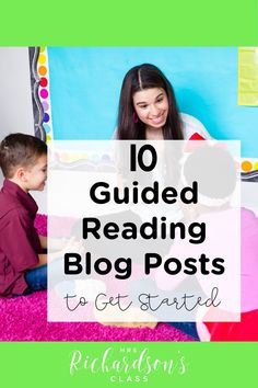 Get started with your guided reading lessons for kindergarten and first grade with these favorite guided reading tips! All you need to know to organize your guided reading groups is here. Plan a guided reading lesson, organize your guided reading materials, and get the best guided reading tips here!