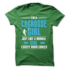 Lacrosse girl is cooler Check more at http://sunfrogcoupon.com/2016/12/20/lacrosse-girl-is-cooler-2/