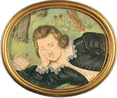 Henry Percy - He was most famous for being engaged to Anne Boelyn before she caught the eye of King Henry VIII. The engagement was broken off and Anne eventually married Henry. I love this dreamy very casual (and sexy) portrait.