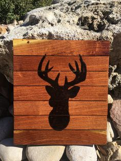 Hey, I found this really awesome Etsy listing at https://www.etsy.com/listing/503720103/deer-head-silhouette-wall-decor