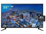 "Smart TV LED 55"" Samsung 4K/Ultra HD Gamer - UN55JU6000GXZD Conversor Digital Wi-Fi 3 HDMI"
