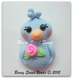 Beary Sweet Beads - Polymer clay creations.