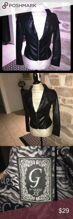 Guess Faux Leather Blazer Faux Leather Blazer from Guess Jackets & Coats Blazers