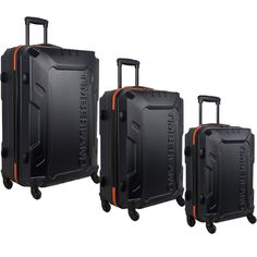 Timberland Boscawen 3 Piece Hardside Spinner Luggage Set: More Colors Available #Timberland #Timberlandluggage #Boscawen #hardside #luggageset #spinner #suitcase #luggage #travel